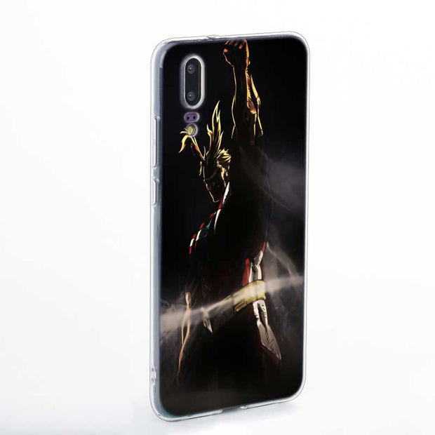 Transparent Soft Silicone Phone Case Anime My Hero Academia For Huawei P Smart Nova 3 3i P20 P10 P9 P8 Lite 2017 Pro Plus