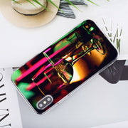 Transparent Soft Silicone Phone Case Beer A Glass Of Beer Summer Style For IPhone XS X XR Max 8 7 6 6S Plus 5 5S SE