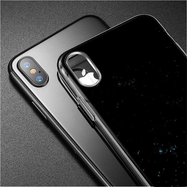 Transparent Soft Silicone Phone Case Castle In The Sky Anime Film Style For IPhone XS X XR Max 8 7 6 6S Plus 5 5S SE
