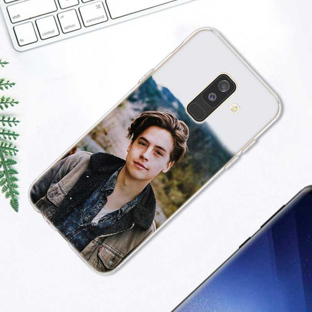 Transparent Soft Silicone Phone Case Cole Sprouse Moley For Samsung Galaxy A9 A8 Star A7 A6 A5 A3 Plus 2018 2017 2016
