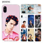 Transparent Soft Silicone Phone Case Cole Sprouse Moley For IPhone XS X XR Max 8 7 6 6S Plus 5 5S SE