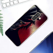 Transparent Soft Silicone Phone Case Cool One Punch Man For Samsung Galaxy A9 A8 Star A7 A6 A5 A3 Plus 2018 2017 2016