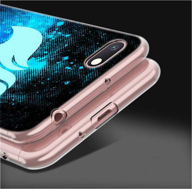 Transparent Soft Silicone Phone Case Fairy Tail Natsu Logo For Xiaomi A2 8 F1 Redmi S2 Note 4X 5 6 5A 6A Pro Plus Lite