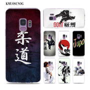 Transparent Soft Silicone Phone Case Judo Taekwondo For Samsung Galaxy Note 9 8 S9 S8 Plus S7 S6 Edge S5 S4 Mini