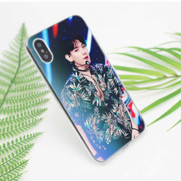 Transparent Soft Silicone Phone Case Kpop Exo Lucky One Style For IPhone XS X XR Max 8 7 6 6S Plus 5 5S SE