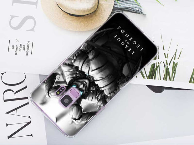 Transparent Soft Silicone Phone Case League Of Legends LOL Hero For Samsung Galaxy Note 9 8 S9 S8 Plus S7 S6 Edge S5 S4 Mini