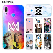 Transparent Soft Silicone Phone Case Marcus Martinus For Huawei P Smart Nova 3i P20 P10 P9 P8 Lite 2017 Pro Plus