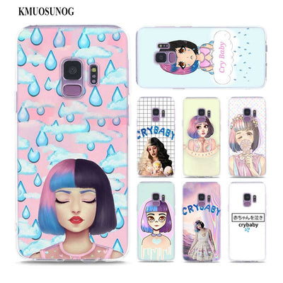 Transparent Soft Silicone Phone Case Melanie Martinez Crybaby For Samsung Galaxy Note 9 8 S9 S8 Plus S7 S6 Edge S5 S4 Mini