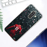Transparent Soft Silicone Phone Case Mohamed M.Salah 11 For Samsung Galaxy A9 A8 Star A7 A6 A5 A3 Plus 2018 2017 2016