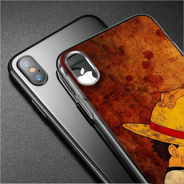 Transparent Soft Silicone Phone Case One Piece Luffy Gear 4 Style For IPhone XS X XR Max 8 7 6 6S Plus 5 5S SE