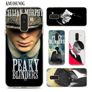 Transparent Soft Silicone Phone Case Peaky Blinders For Samsung Galaxy A9 A8 Star A7 A6 A5 A3 Plus 2018 2017 2016