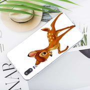 Transparent Soft Silicone Phone Case Sika Deer Bambi For Huawei P Smart Nova 3i P20 P10 P9 P8 Lite 2017 Pro Plus