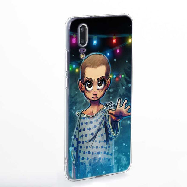 Transparent Soft Silicone Phone Case Stranger Things For Huawei P Smart Nova 3i P20 P10 P9 P8 Lite 2017 Pro Plus
