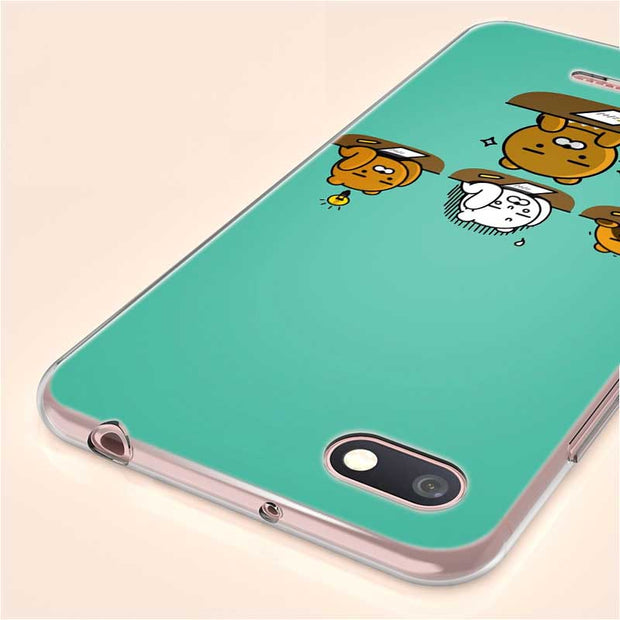 Transparent Soft Silicone Phone Case Cartoon Funny Cocoa Friend For Xiaomi A1 A2 8 F1 Redmi S2 Note 4X 5 6 5A 6A Pro Lite Plus
