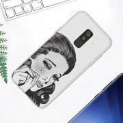 Transparent Soft Silicone Phone Case Crying Baby Cry Girl For Samsung Galaxy A9 A8 Star A7 A6 A5 A3 Plus 2018 2017 2016