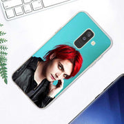 Transparent Soft Silicone Phone Case My Chemical Romance For Samsung Galaxy A9 A8 Star A7 A6 A5 A3 Plus 2018 2017 2016