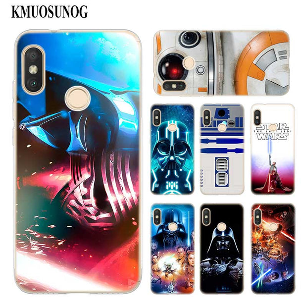 Transparent Soft Silicone Phone Case Star Wars Force Awakens Kylo Ren For Xiaomi A1 A2 8 F1 Redmi S2 Note 4X 5 6 5A 6A Pro Lite