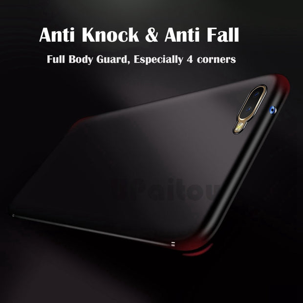 UPaitou For OPPO RX17 Neo K1 R17 R15 Pro F7 Youth Realme 1 Matte TPU Case Soft Silicon Cover For Oppo RX17 Neo R17 R15 Pro K1