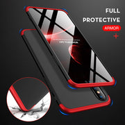 UTOPER Cases For IPhone XS Max Case 360 Full Protect Cover For IPhone XR Coque Hard Case For IPhone 7 8 Plus X 6 6s 7Plus 8Plus