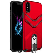 UVR Phone Holder Case For Iphone X 6s 7 8 PLUS TPU+PC Smartphone Phone Case Modern Colorful Fundas Carcasas Kickstand#