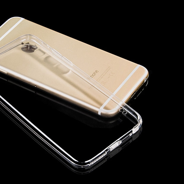 Ultra Slim Crystal Clear TPU Case For IPhone 4 4s 5 5s 6 6s 7 8 Plus X Silicone Protective Sleeve Cover For IPhone 6s Plus XS XR