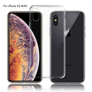 Ultra Thin Clear Phone Case For IPhone XS Max XR XS X 10 7 8 6 6 S Plus 5 5s SE 4 4S Soft TPU Back Cover Capa For IPhone XS MAX