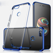 Ultra Thin Cover For Huawei P8 P9 P10 P20 Mate 9 10 Lite Plus Pro 2017 Plating Soft Cases Honor 7X 9 Nova 3e P Smart Enjoy 7S