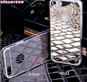 Ultra Thin Gorgeous Bling Plating Mirror Effect Soft Cellphone Cover Case For IPhone XS MAX XR X 4 4S 5 5S SE 6 6S Plus 7 8 Plus