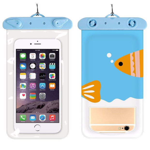 Underwater Travel Swimming Waterproof Bag Case Cover For 6 Inch Cell Phone Phone Accessories For Iphone Universal Models 6 Inch