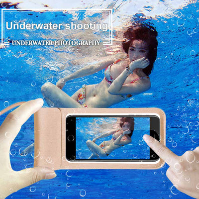 Universal Waterproof Phone Cover Case Swim Case Pouch Bag For IPhone 8/7/6S Samsung Galaxy S8 RJ88 ND998
