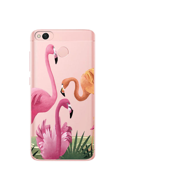 VIYISI For Xiaomi Redmi Note 5A Phone Case Coque 4X 6 4 4A Mi A1 5X Flamingo Etui TPU Solicone Back Carcasas Fundas Cell