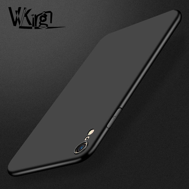 VVKing For Iphone XR Case Ultra Thin Soft TPU Matte Cover For IPhone X XS MAX Case For Apple Iphone 6 6S 7 8 Plus XS Cover Coque