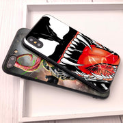 Venom For Fundas IPhone XS Max Shell Cover For Case IPhone 8 Plus XR Coque For Case IPhone 5 5S 6 7 8 Plus SE X XR Phone Cover