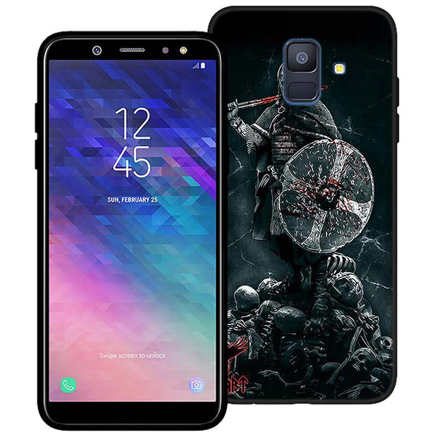 Vikings TV Show Silicone Phone Case For Samsung Galaxy A6 A6+ A8 A8+ 2018 A8 A9 Star Lite Soft Black Coque Fundas