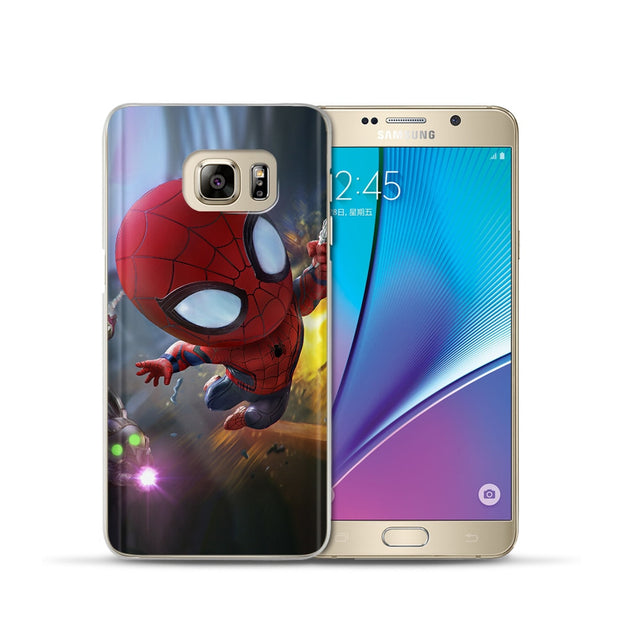 Weldone Case Cover For Samsung A8 2018 A3 A5 A7 2015 2016 2017 Cool Super Hero Phone Covers Cases Etui For A8 Plus 2018 Cover
