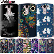 Weldone Case For LG Q6 G6 X Power 2 X Screen G4 G5 Q8 K7 K8 K10 Painted Silicone Phone Cases Etui Cover For K8 K10 2017 Coque