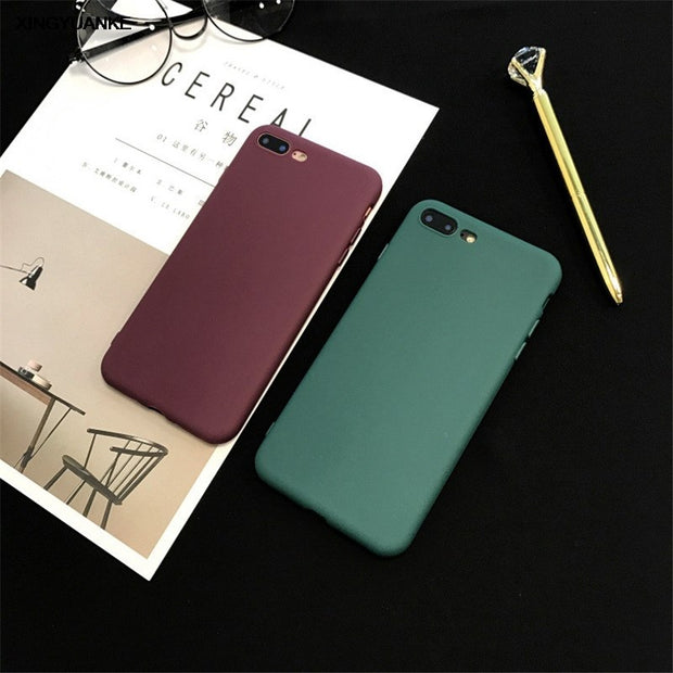 XINGYUANKE Luxury Wine Red Phone Cases For Huawei P20 Case Fashion For Huawei P20 Pro Case Soft Silicone Coque Cover Fundas Capa