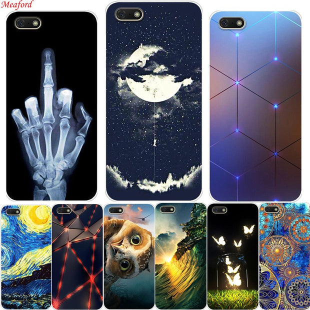 Y5 2018 Case For Huawei Y5 Prime 2018 5.45 Case Silicone Soft TPU Back Cover For Huawei Y5 Y 5 Prime 2018 Case Funda Coque Cool