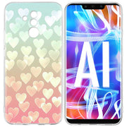 YAETEE Heart Phone Case For Huawei P20 P30 Pro P10 P8 P9 Lite Mini 2017 P Smart + Plus 2019 Nova 3E 3i TPU Cover Coque Capa