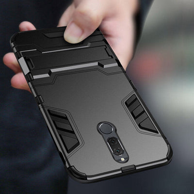 YISHANGOU Armor Rugged KickStand Phone Case For Huawei P8 P9 P10 Lite Mate10 Pro Maimang6 Enjoy7 Honor 9/V9/6A NOVA 2 Y3 Y6 2017