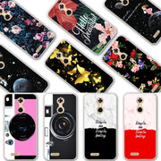 YOUVEI Chic Painted Lovers Phone Bags Cases For Oukitel C8 Silicone Back Cover Case For Oukitel C8 Covers Coque Oukitel C 8