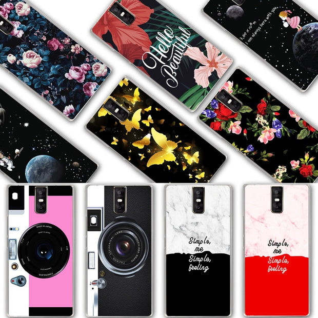 YOUVEI Chic Painted Lovers Phone Bags Cases For Oukitel K3 Silicone Back Cover Case For Oukitel K3 Fundas Capa Oukitel K 3 5.5""