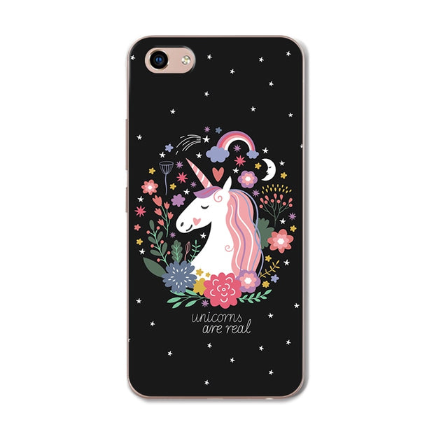 YOUVEI Chic Painted Lovers Phone Case For Vivo Y81 Silicone Back Cover Case For Vivo Y81 Y 81 Covers Coque Funda VivoY81 6.22""