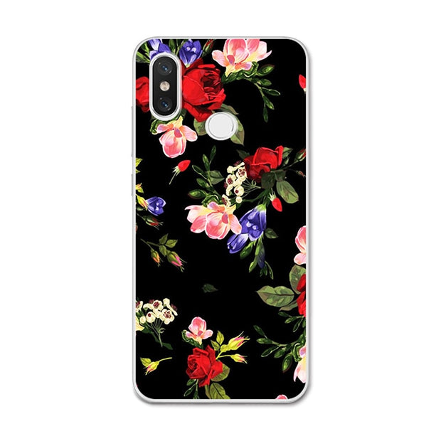 YOUVEI Chic Painted Lovers Phone Case For Xiaomi Redmi 5A Cover For Redmi Note 5 Pro Cases Coque For Xiaomi Redmi 5 Plus Y1 Lite