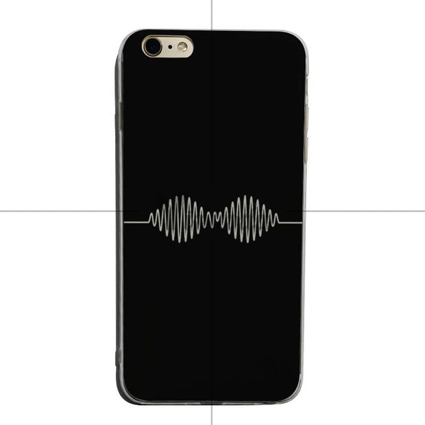 Yinuoda ARCTIC MONKEYS Soft Transparent Cover Case For IPhone 5 5s SE 6 6plus 7 8 8plus X XS XR XS Max