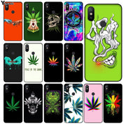 Yinuoda Abstractionism Art High Weed TPU Soft Phone Cover For Xiaomi Mi 6 8 Se Note2 3 Mix2 Redmi 5 5plus Note 4 5 5 Cases