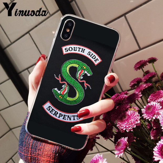 Yinuoda American TV Riverdale Jughead Jones Custom Photo Soft Phone Case For Apple IPhone 8 7 6 6S Plus X XS MAX 5 5S SE XR