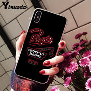 Yinuoda American TV Riverdale Painted LOGO Luxury Unique Design Phone Cover For IPhone X XS MAX 6 6S 7 7plus 8 8Plus 5 5S XR