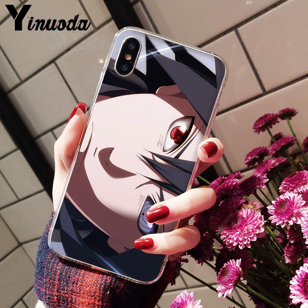 Yinuoda Anime Naruto One Piece Dragon Ball TPU Soft Silicone Phone Case For IPhone X XS MAX 6 6s 7 7plus 8 8Plus 5 5S SE XR