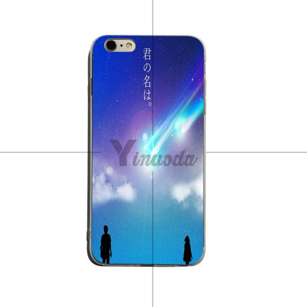 Yinuoda Anime Your Name Kimi No Na Wa Coque Phone Cases For